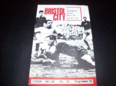 Bristol City v Portsmouth, 1967/68